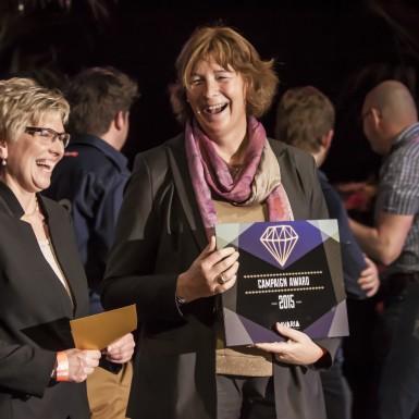 Petra De Sutter wint de Çavaria Campaign Award